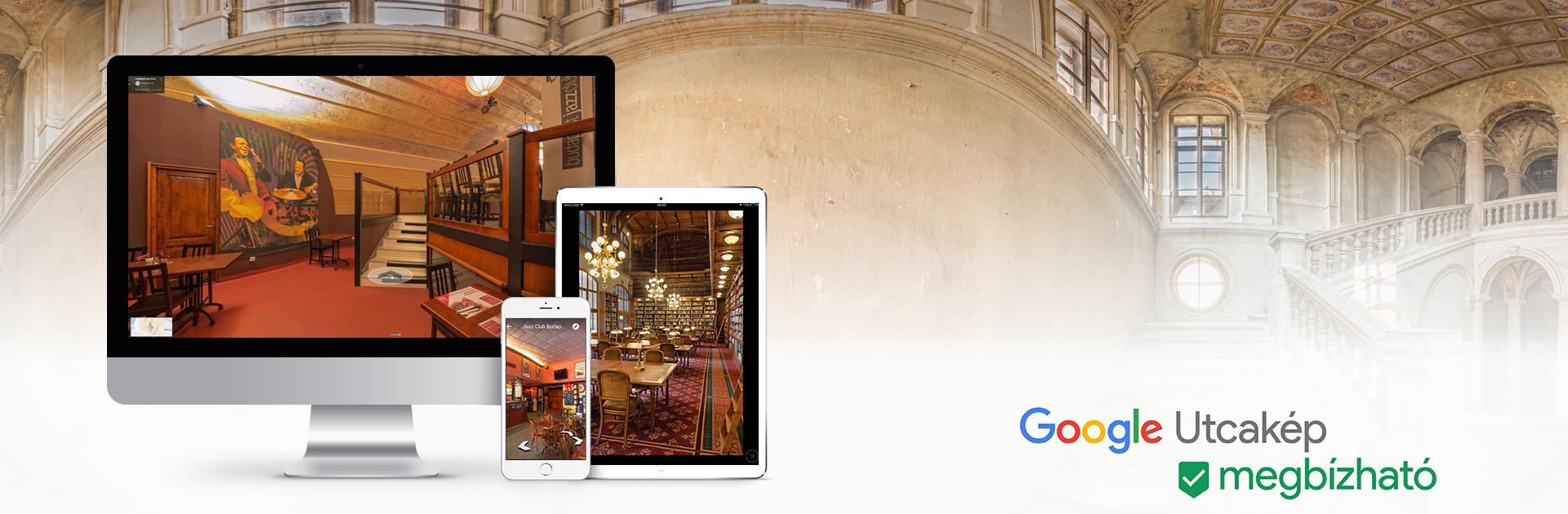 Google Utcakép megbízható fényképész